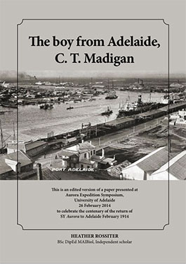 The Boy from Adelaide, C. T. Madigan - cover image